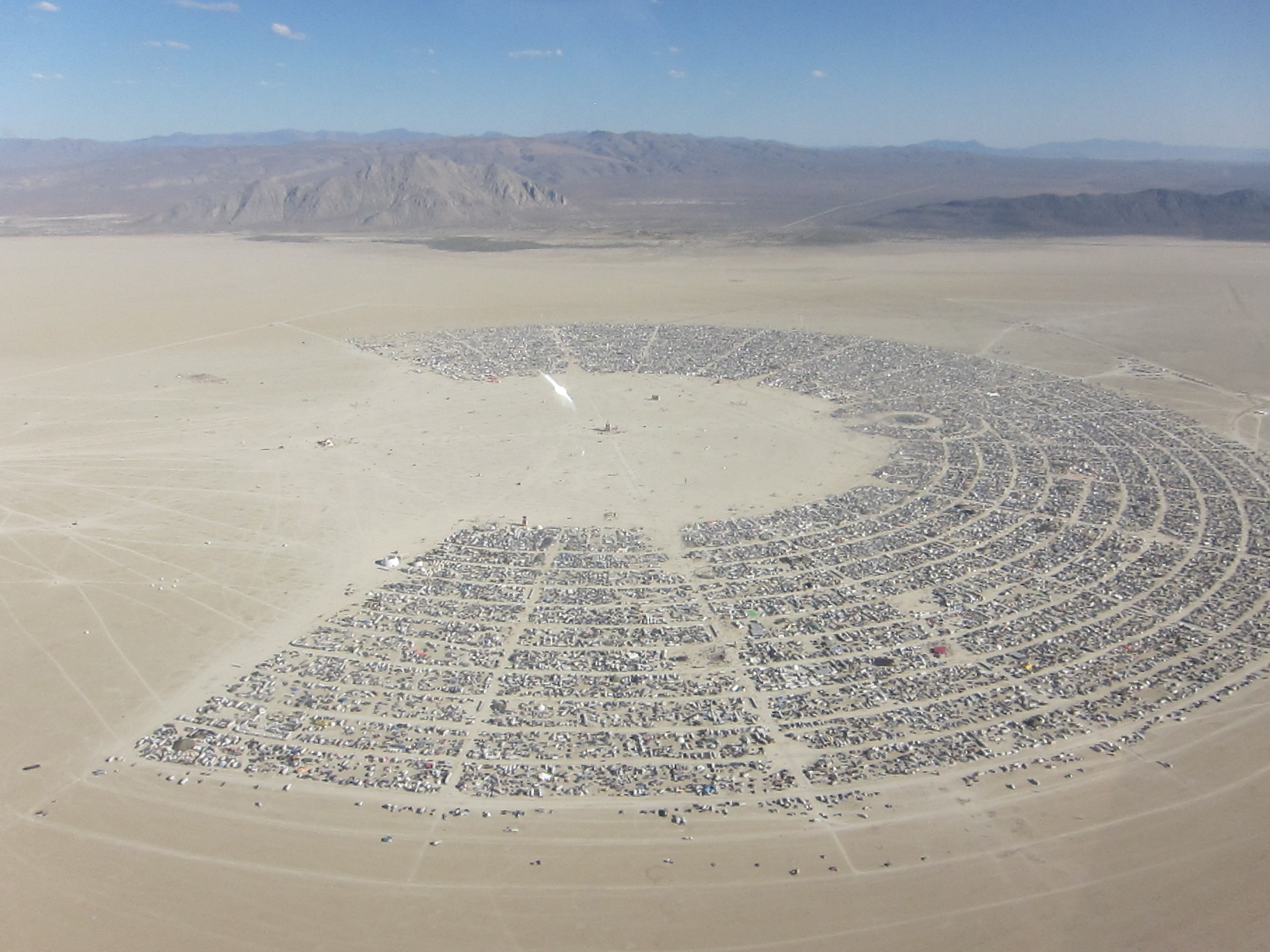 Burning Man aerial ... gear and heading out to Burning man in the Nevada desert this year!